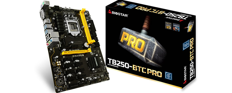 Photo of Biostar TB250-BTC PRO soporta hasta 12 tarjetas para minar