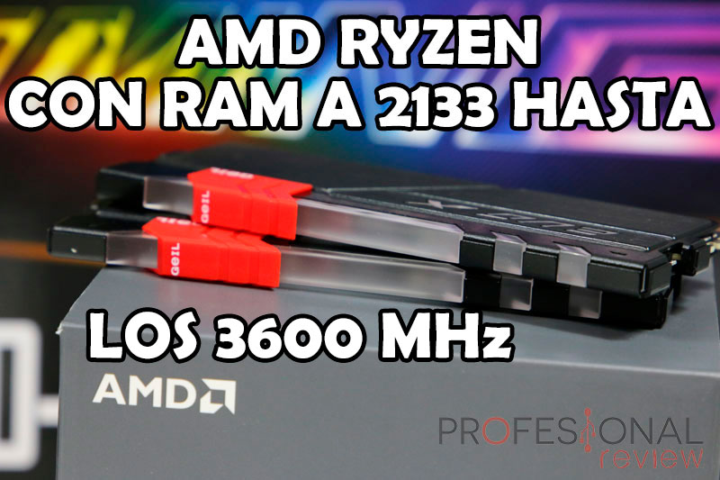 Comparativa RAM en AMD Ryzen vs Intel Kaby Lake