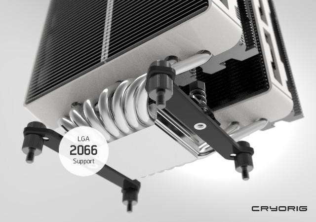 Cryorig confirma la compatibilidad con LGA 2066