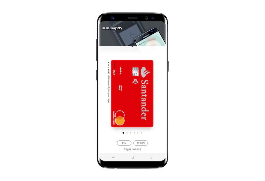 Ya puedes usar Samsung Pay con tus tarjetas del Banco Santander