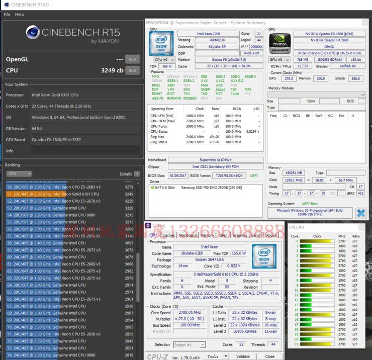 Intel Xeon Platinum y Gold