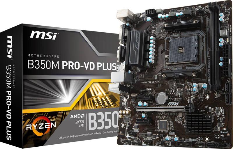 MSI B350M/A320M Pro-VD