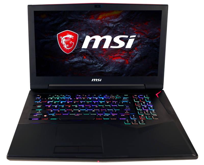 MSI GT75VR Titan con nuevo teclado mecánico RGB