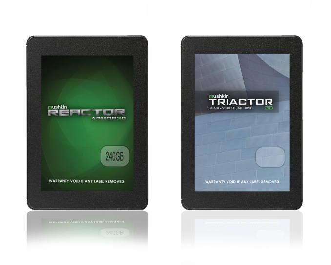 Mushkin ARMOR3D y Triactor 3D