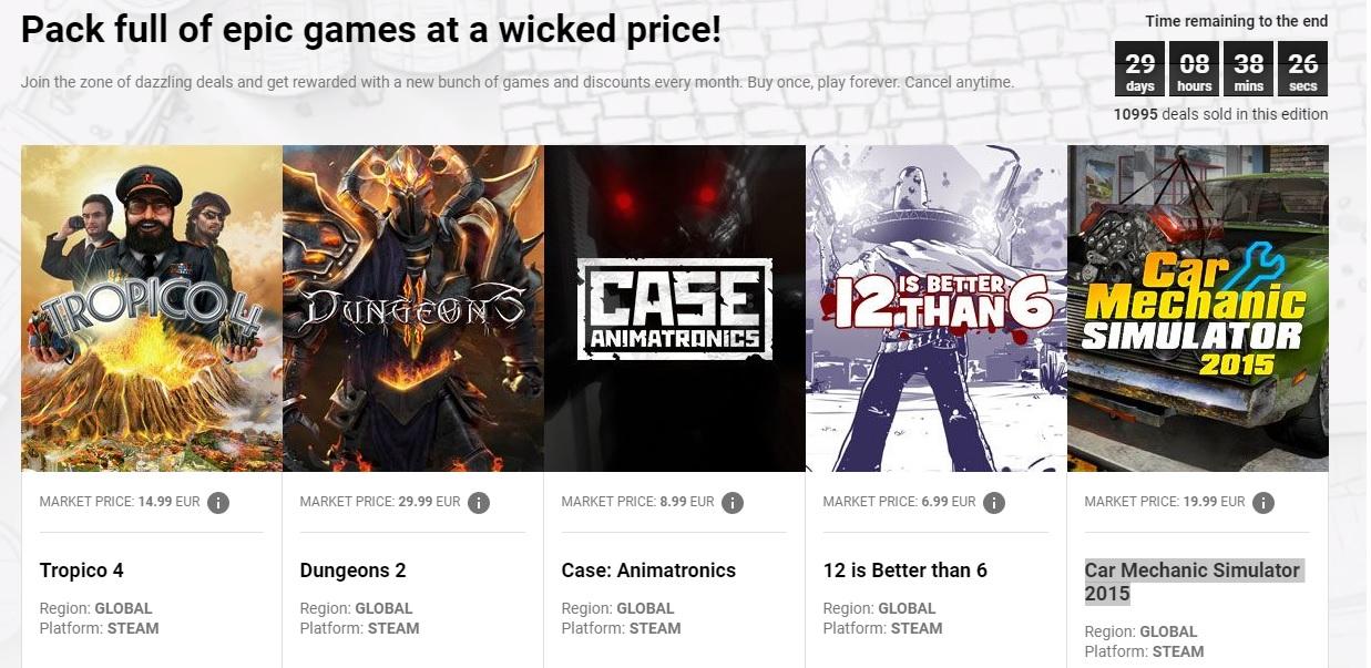 Nuevo bundle de juegazos tirados de precio en G2A