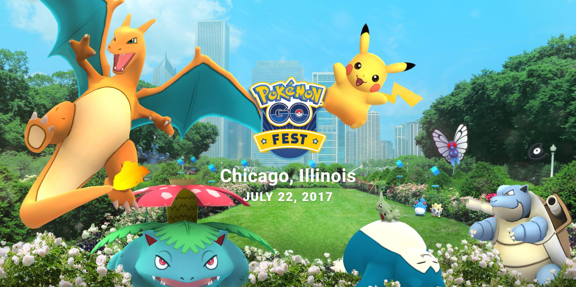 Photo of Pokémon Go Fest: Primer evento del juego en el mundo real