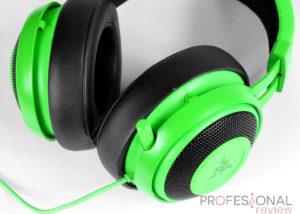 Razer Kraken Pro V2 verde Review en español