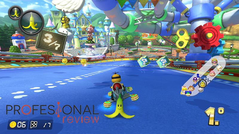 Mario Kart 8 Deluxe handicap