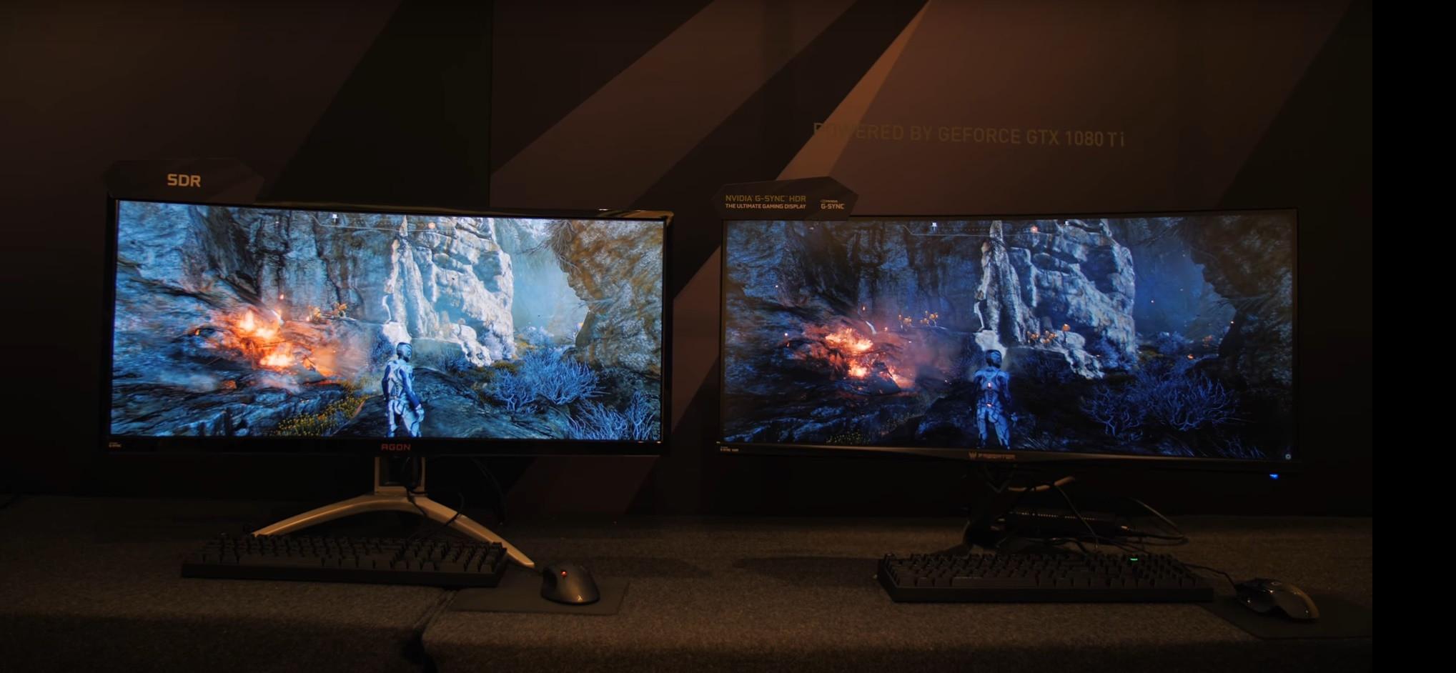 Photo of NVIDIA empeora la calidad de imagen de un monitor SDR para destacar el efecto HDR