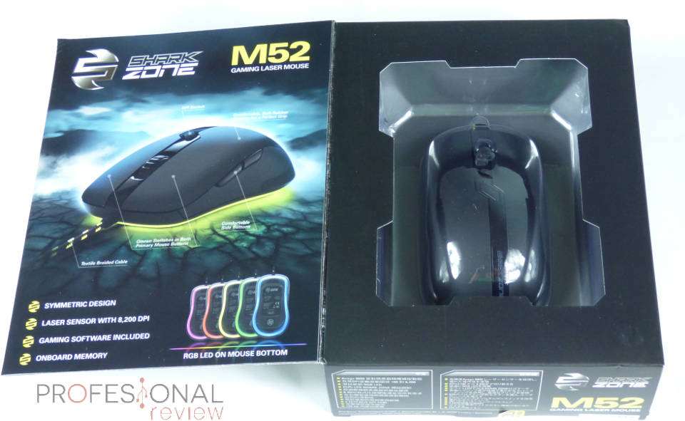 Sharkoon Sharkzone M52 Review