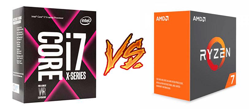 Photo of Intel Core i7 7820X vs AMD Ryzen 7 1800X (Comparativa)