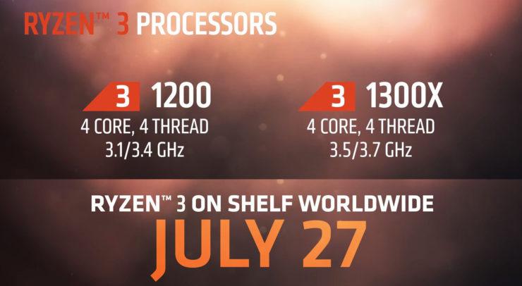 Photo of Revelados los precios de los AMD Ryzen 3 1200 y 1300X