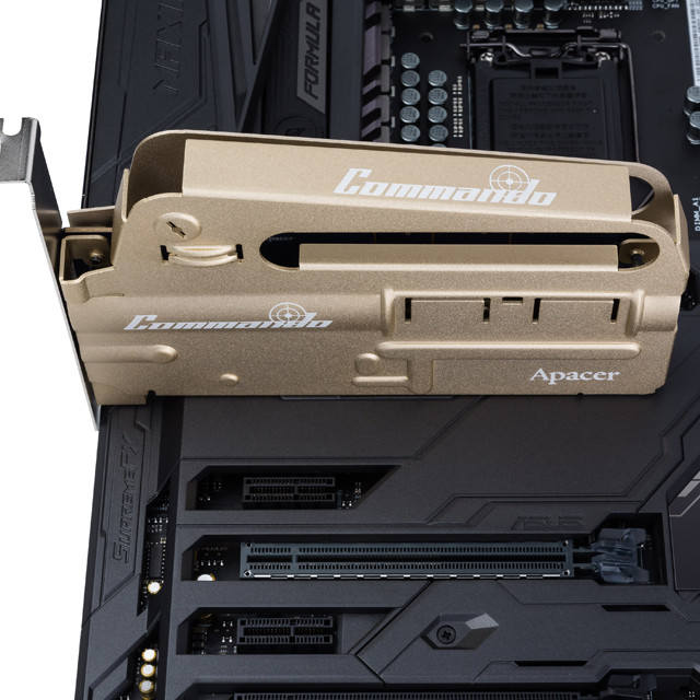 Apacer PT920 Commando, un SSD con forma de rifle de asalto