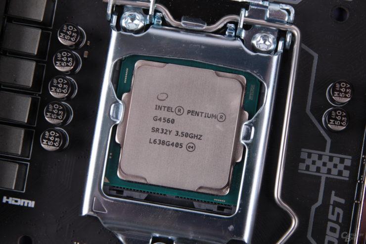 Intel no va a matar al Pentium G4560