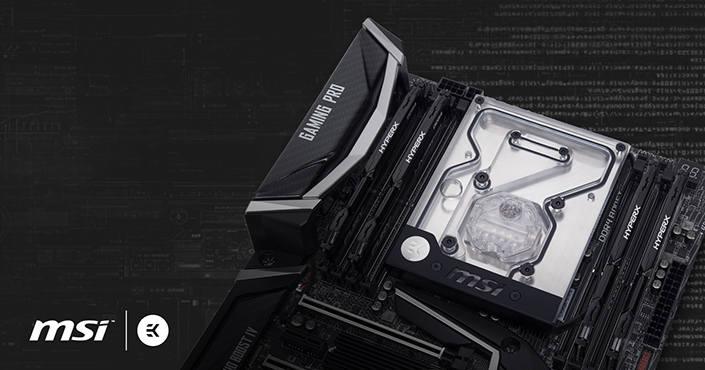 MSI X299 Gaming Pro ya dispone de un monobloque de EK