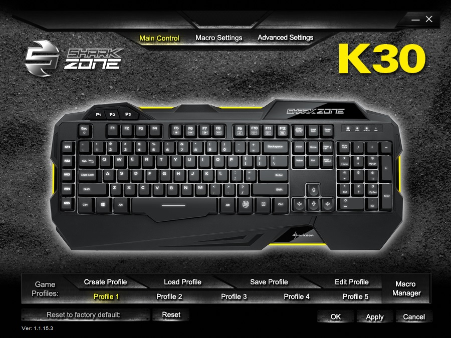 Sharkoon Sharkzone K30 Review