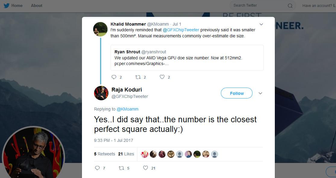 Vega 10 no es el núcleo más grande de AMD