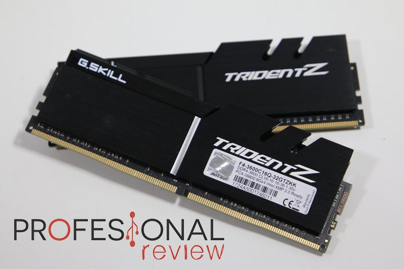 Photo of G.Skill Trident Z DDR4 3600 MHz Review en Español (Análisis completo)
