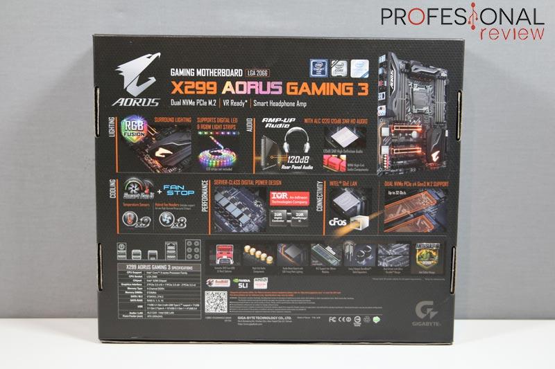 Gigabyte X299 Gaming 3
