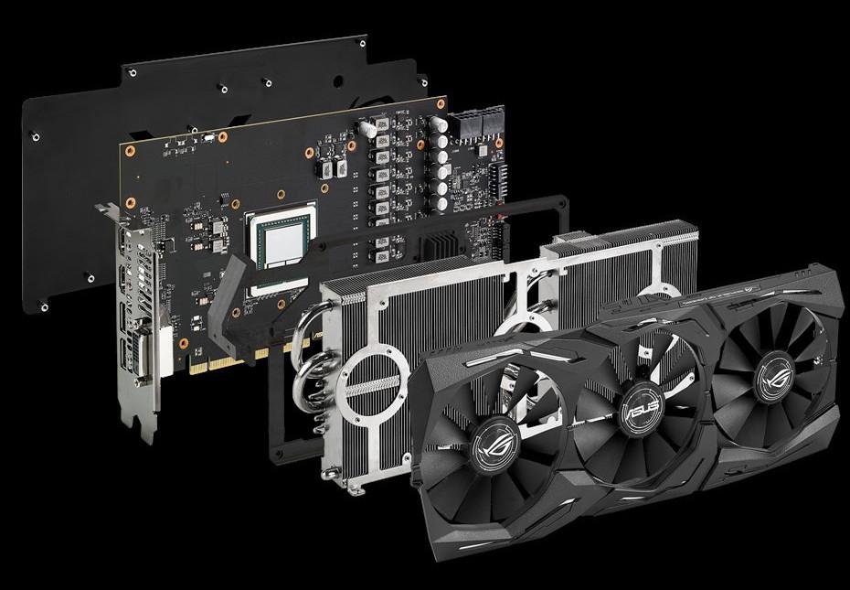 AsusROGSTRIX Radeon RX Vega 64 O8G