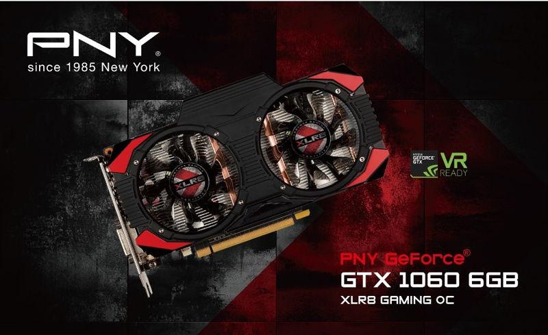 Photo of PNY anuncia la PNY GeForce GTX 1060 6GB XLR8 Gaming OC Edition