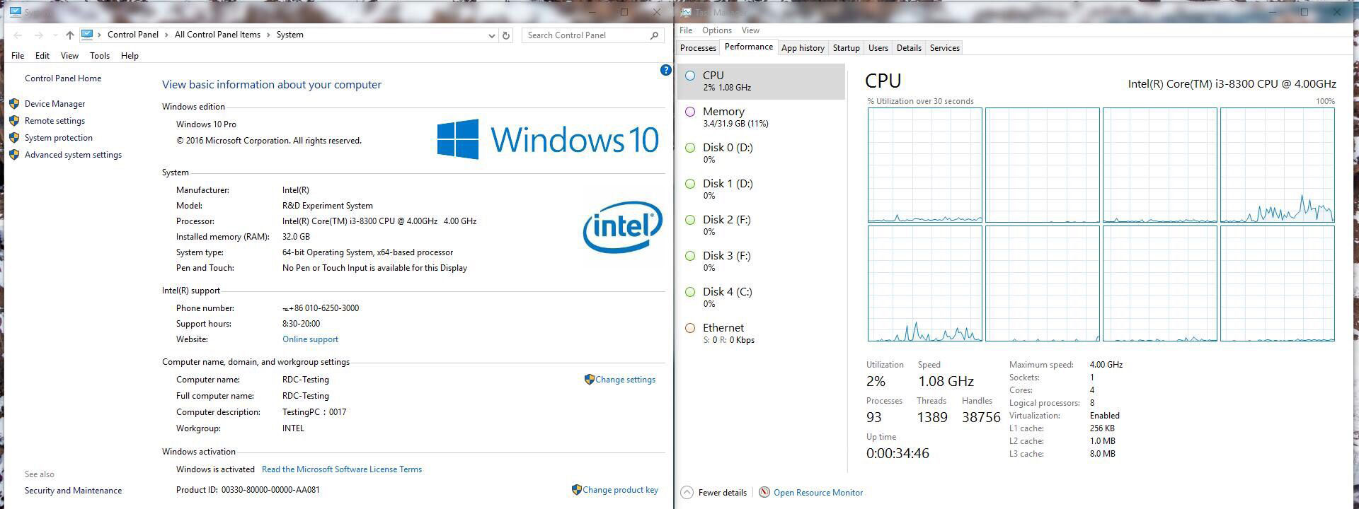 Photo of Posible Intel Core i3-8300: 4 núcleos + HyperThreading y 4 GHz de frecuencia