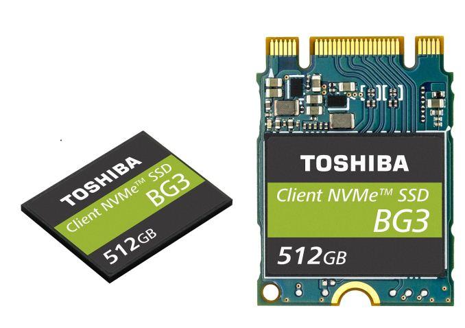 Photo of Toshiba anuncia la BG3, una nueva SSD NVMe de bajo consumo con memoria NAND BiCS3 3D
