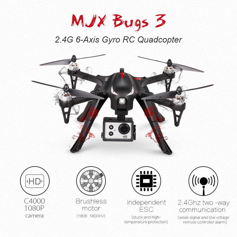Dron MJX Bugs 3