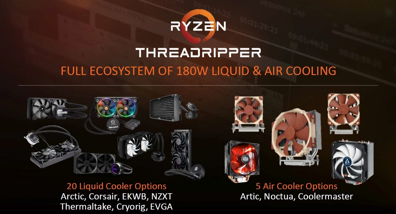 Refrigeración para AMD Threadripper