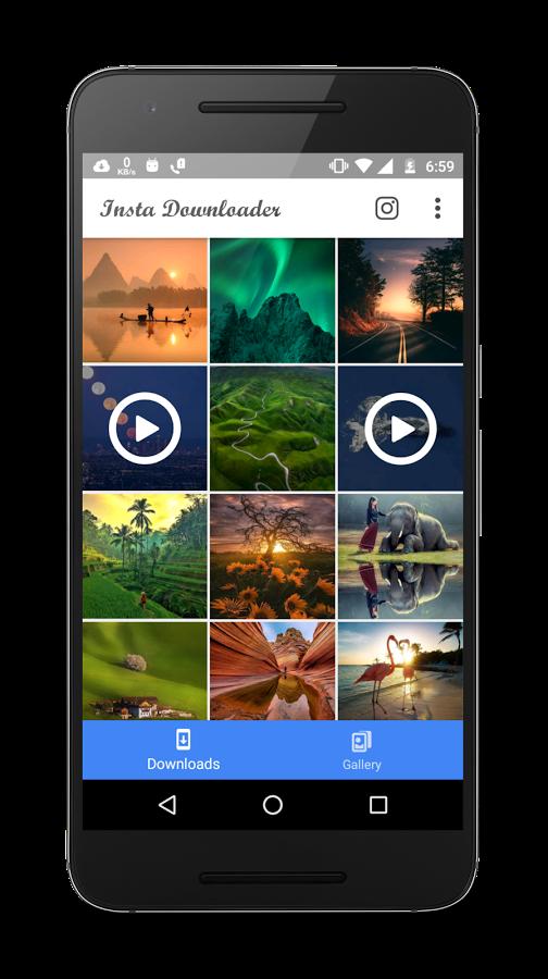 InstaSave - Descargar vídeos de Instagram