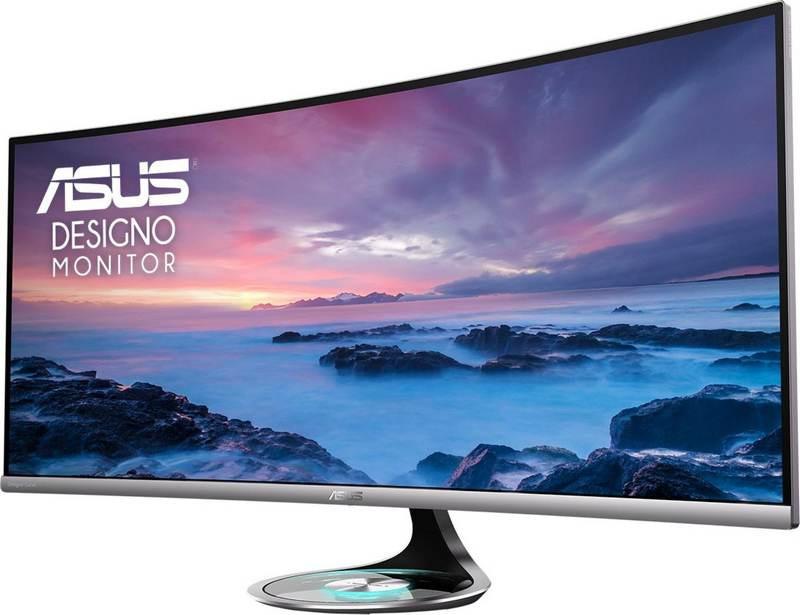 nuevos monitores curvos Asus MX38VC y MX32VQ