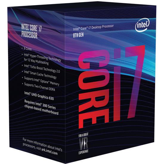 Core i7-8700K a la par de Ryzen 5 en multi-hilo