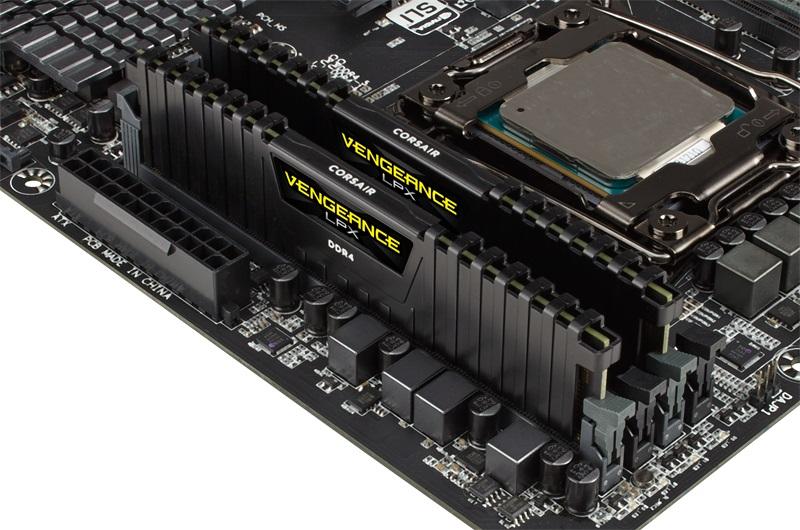 CorsairVengeance LPX DDR4 a 4600 MHz