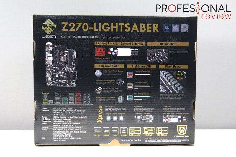 ECS Z270 Lightsaber