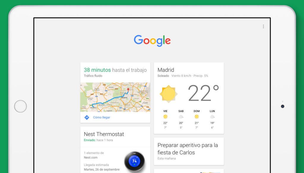 """La app de Google ofrece """"respuestas inteligentes"""" y tendencias de búsquedas"""