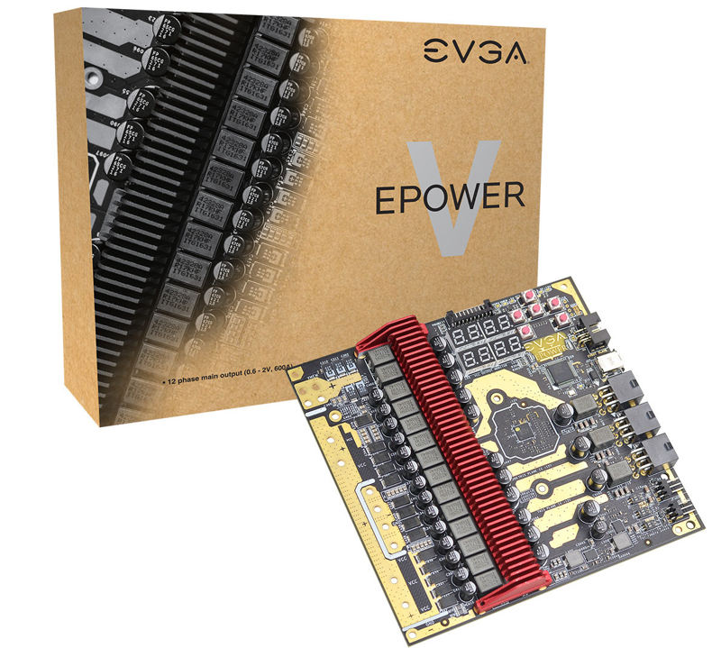 Photo of EVGA EPOWER V te ofrece 12+2 fases de alimentación adicionales para tus dispositivos