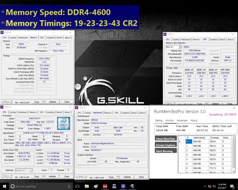G.Skill Trident Z DDR4 4600 MHz