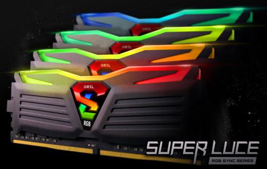 GeILSUPER LUCE RGB SYNC, nuevas memorias con RGB