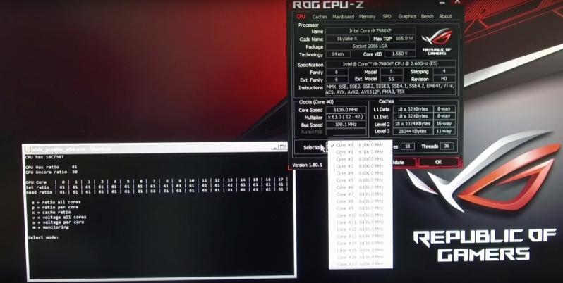 Photo of Intel Core i9 7980XE alcanza los 6,1 GHz en sus 18 núcleos