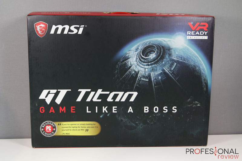 MSI GT75VR 7RF Titan Pro