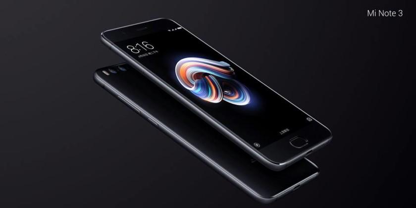 Photo of Xiaomi presenta el Mi Note 3 con doble cámara y 6 GB de RAM