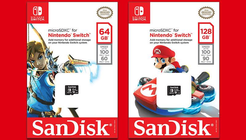Nuevas tarjetas de memoriaWestern Digital certificadas por Nintendo