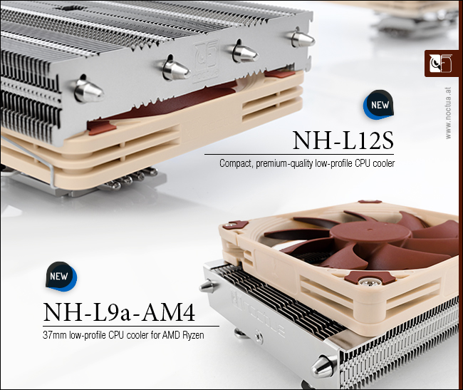 NoctuaNH-L9a-AM4 y elNH-L12S