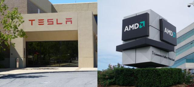 Tesla Motors trabaja con AMD para la conducción autónoma
