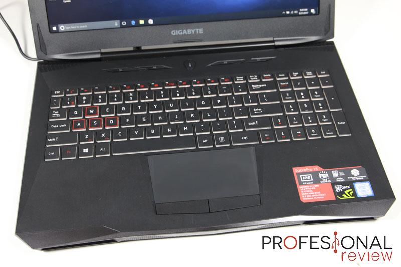Gigabyte SabrePro 15 review