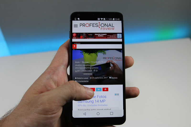 Photo of LG G6 Review en Español (Análisis completo)