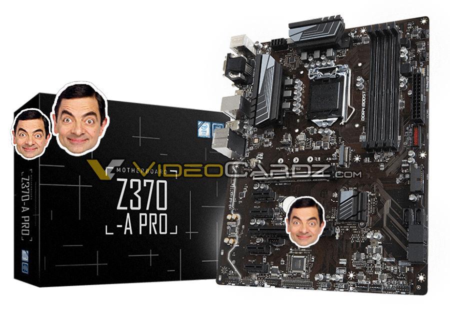"""Una imagen de la placa base Z370 y el """"nuevo"""" socket 1151"""