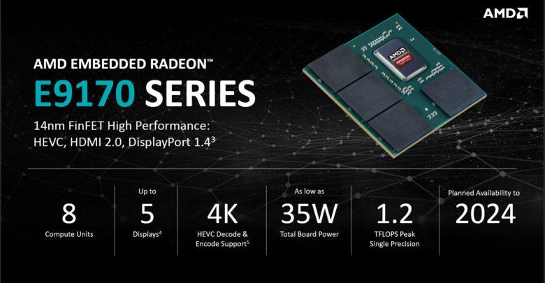 AMD Embedded Radeon E9170