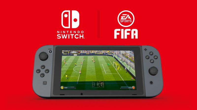 Así luce FIFA 18 en Nintendo Switch
