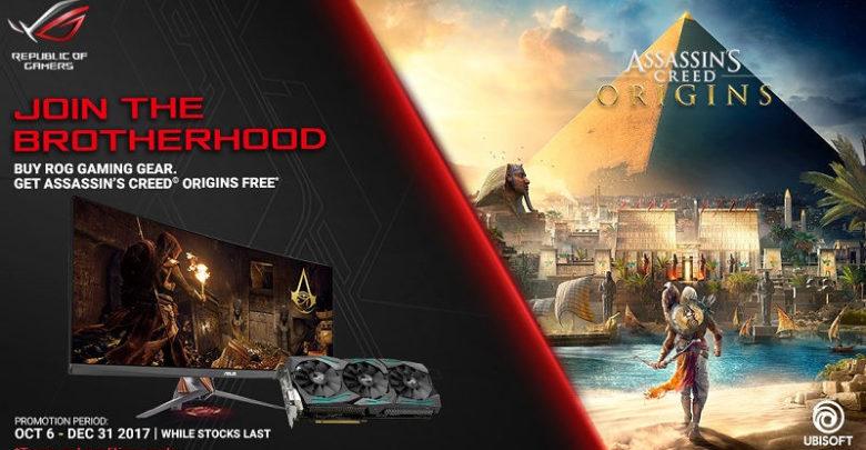 Photo of Asus regalará Assassin's Creed Origins con algunas GPUs y monitores de la serie ROG